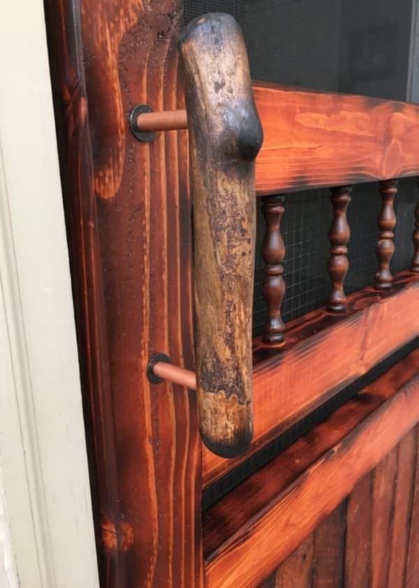 Diy Video Tutorial: Pallet Wood Screen Door DIY Pallet Video Tutorials Pallet Walls & Pallet Doors