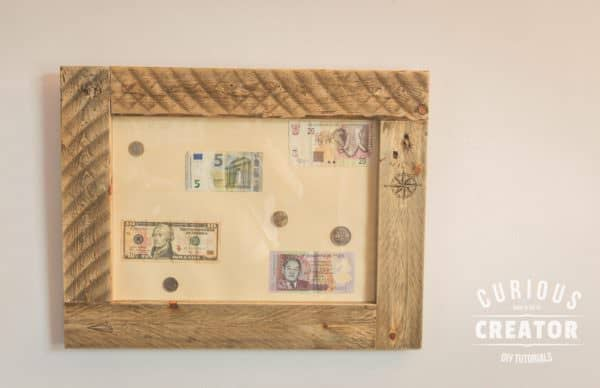 Diy Video Tutorial: Travel-inspired Pallet Picture Frame Pallet Wall Decor & Pallet Painting