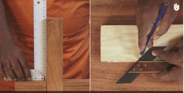 Using Miter Squares For Perfect Wood Joints DIY Pallet Video Tutorials Workshop and tools