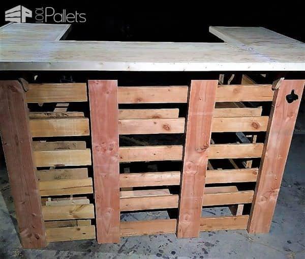 Rustic Pallet Bars Get Parties Started Pallet Bars