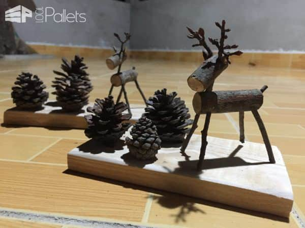 10 Pallet Holiday Decor Ideas You Created! Pallet Home Décor Ideas