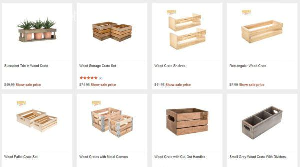 I Want Wine Crates: Where to Find Free or Cheap Wood Crates Other Pallet Projects Pallet Home Accessories