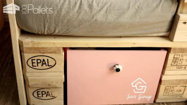 Toddler Bed with Pallets Fun Pallet Crafts for Kids Pallet Beds, Pallet Headboards & Frames Pallet Furniture