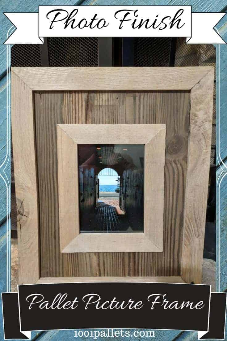 Highlight Your Photos: Pallet Wood Picture Frame Pallet Wall Decor & Pallet Painting