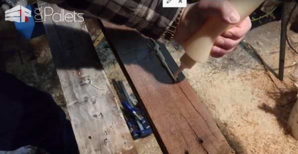 Learn Pallet Wood Turning Techniques With This Diy Video! DIY Pallet Video Tutorials