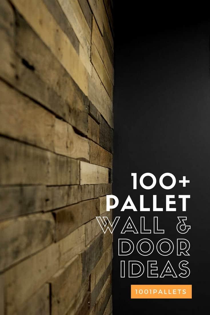 Pallet Wood Walls & Doors • DIY Ideas • 1001Pallets