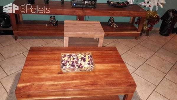 Pallet Lounge Tables: Tasteful Trio For Any Design Style Pallet Coffee Tables Pallet TV Stands & Racks
