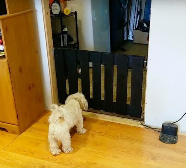 Pallet Wood Gate for the Dog Animal Pallet Houses & Pallet Supplies DIY Pallet Video Tutorials