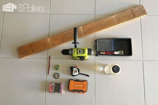 Diy: Pallet Mobile Phone, Pen & Remote Control Holder Box Pallet Boxes & Chests Pallet Home Accessories