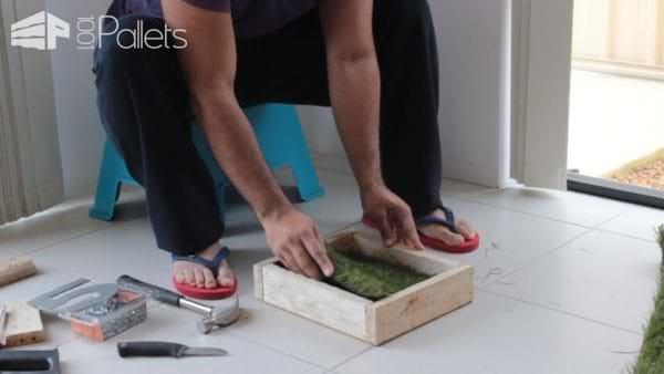 Modern House Pallet Number Plaque DIY Pallet Video Tutorials Pallet Home Accessories