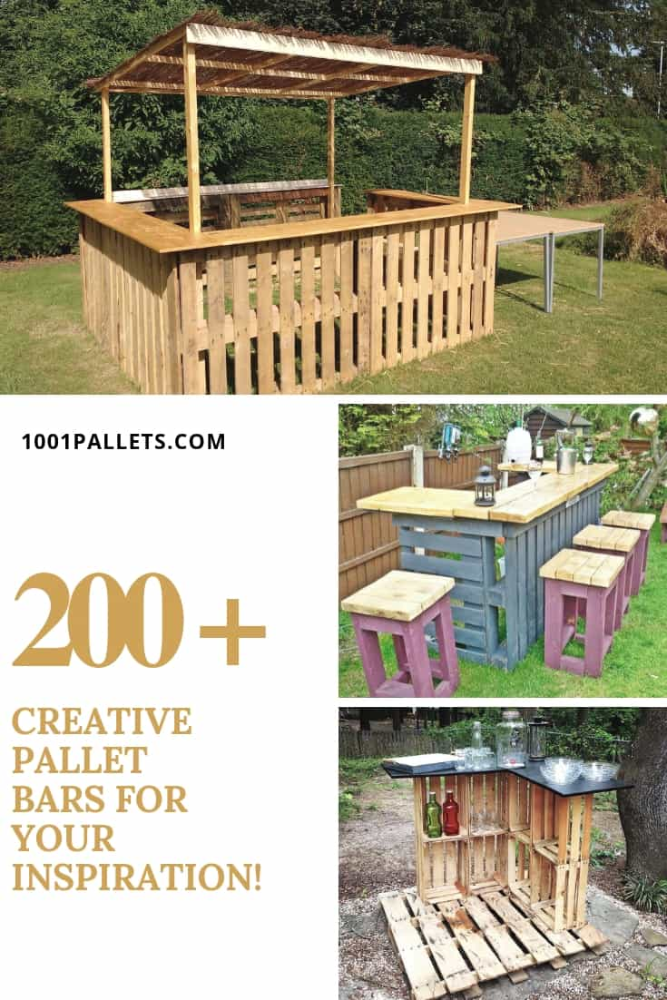 Pallet Bar Hundreds Of Bar Ideas Made Out Of Pallets 1001 Pallets