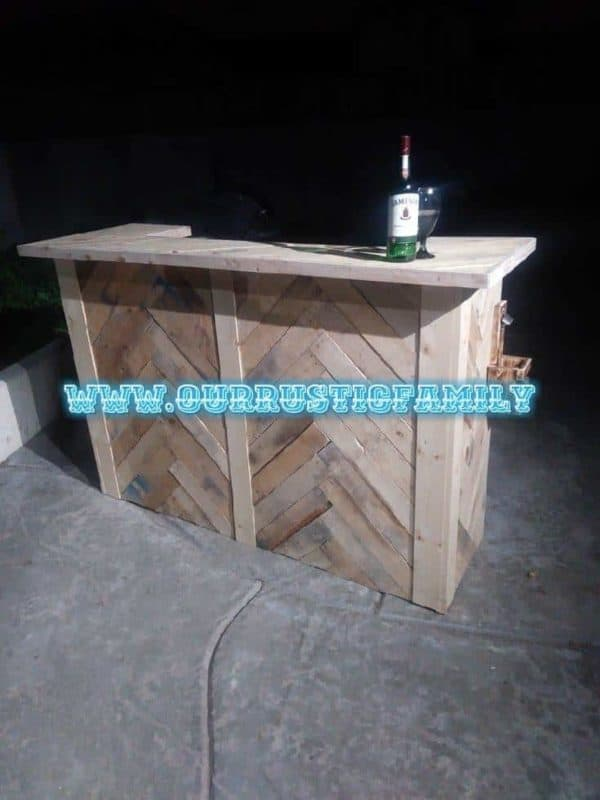 Our Rustic Family Pallet Furniture Pallet Bars Pallet Furniture