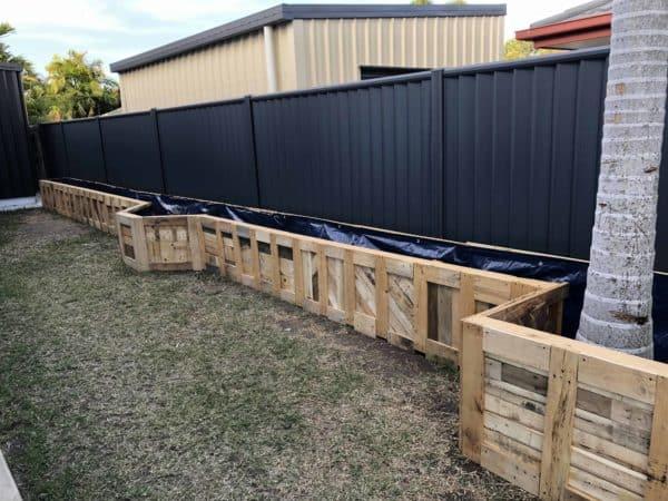 Pallet Garden Raised Bed Pallet Planters & Compost Bins