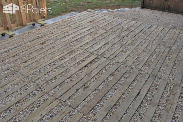 Pallet Outdoor Patio Pallet Terraces & Pallet Patios