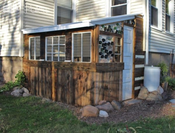 Yogarden Pallet Greenhouse Pallet Sheds, Cabins, Huts & Playhouses