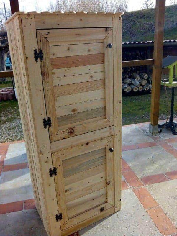 Pallet Shoe Cabinet Pallet Cabinets & Wardrobes
