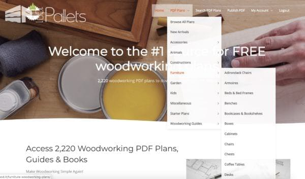 Justwood.it: A Complete Review Other Pallet Projects