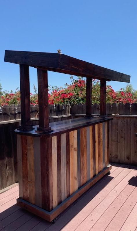 Our Rustic Family Cantina Pallet Bar Pallet Bars