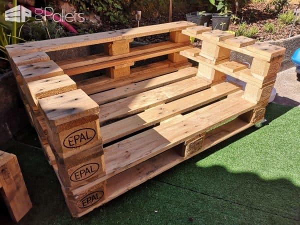 Euro Pallet Garden Set Lounges & Garden Sets