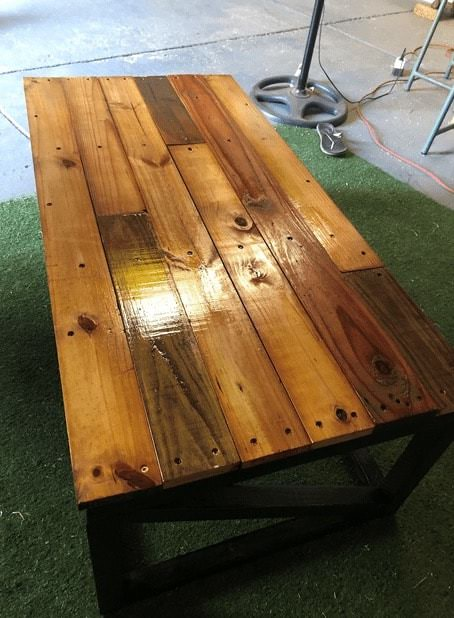 Easy Pallet Coffee Table Pallet Coffee Tables