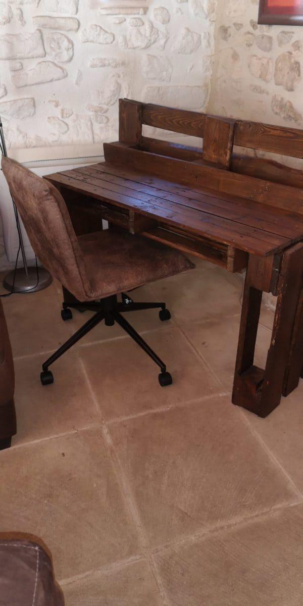 3 Pallets Desk Pallet Desks & Pallet Tables