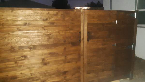 Pallet Rustic Gate Pallet Fences