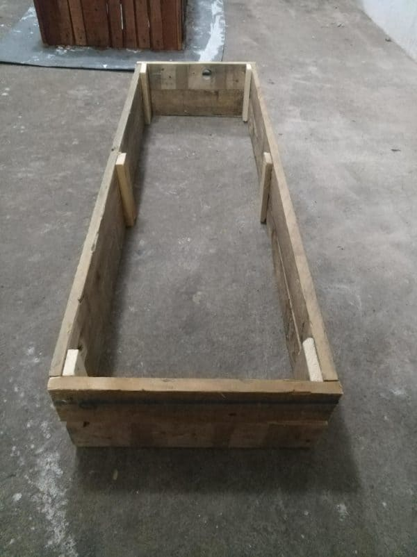 How I Made Crates For Vegetables And Flowers From Pallets Pallet Planters & Compost Bins