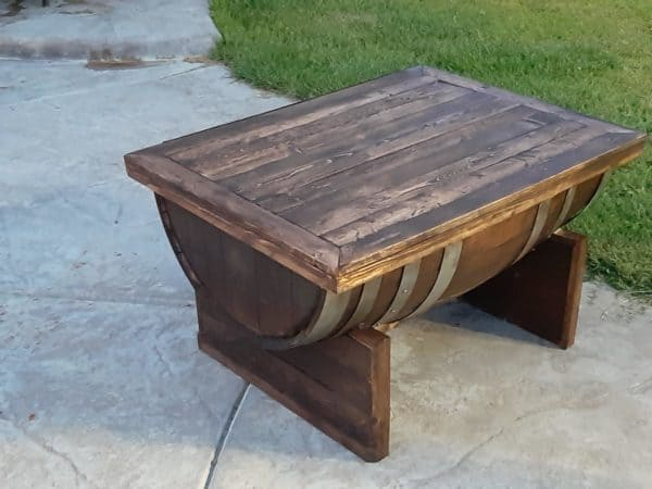 How I Made This Wine Barrel Coffee Table Pallet Coffee Tables