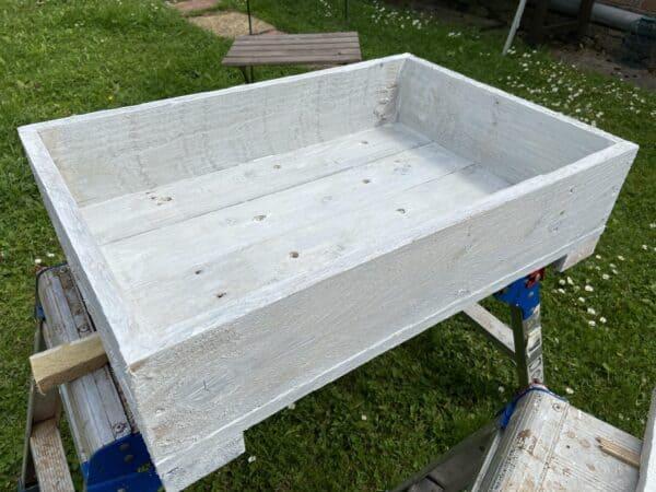 Simple Pallet Planter Pallet Planters & Compost Bins