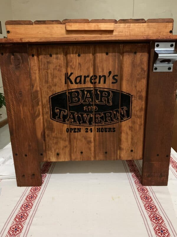 Pallet Coolers Pallet Boxes & Chests Pallet Store, Bar & Restaurant Decorations