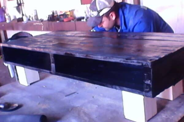Half Pallet Coffee Table Pallet Coffee Tables