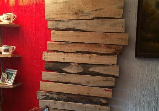 Change Drab Into Fab Making Pallet Wall Accents