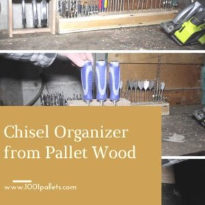 Chisel Organizer from Pallet Wood 04