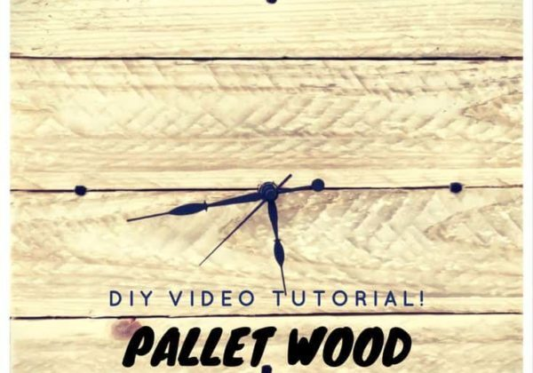 1001pallets.com-diy-video-tutorial-rustic-pallet-wood-wall-clock-02