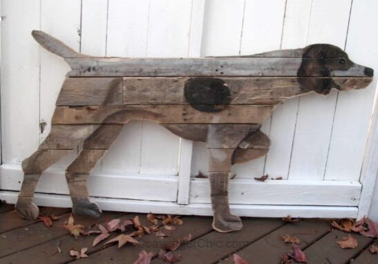 1001pallets.com-german-short-haired-pointer-wall-art