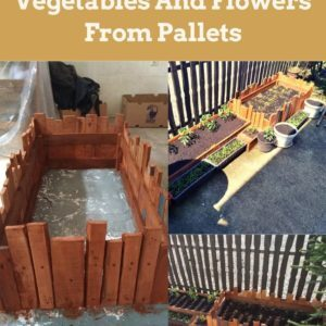 How I Made Crates For Vegetables And Flowers From Pallets