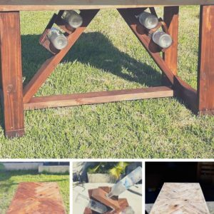 How I Made This Pallet Pub Table- The Wine A Little