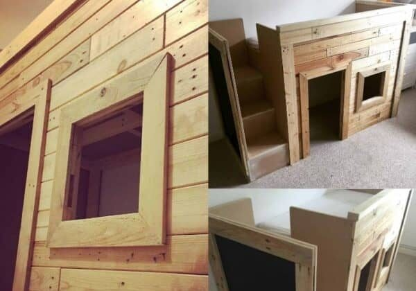kids-pallet-bed-playhouse