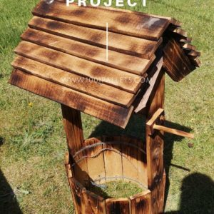 Little Pallet Wishing Well Project