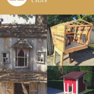 Coops, Hutches & Cages Made From Pallets