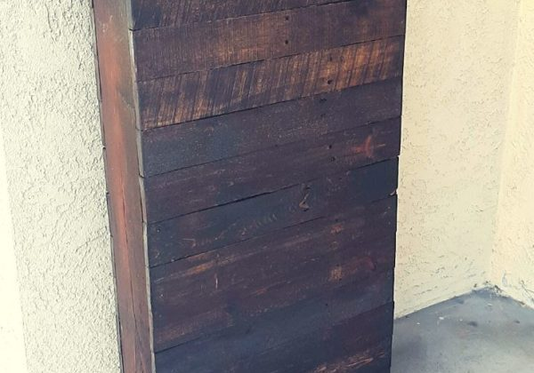 Rustic Pallet Mail Box Tower