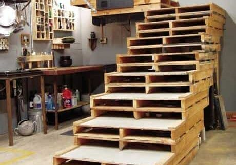 pallet-stairs